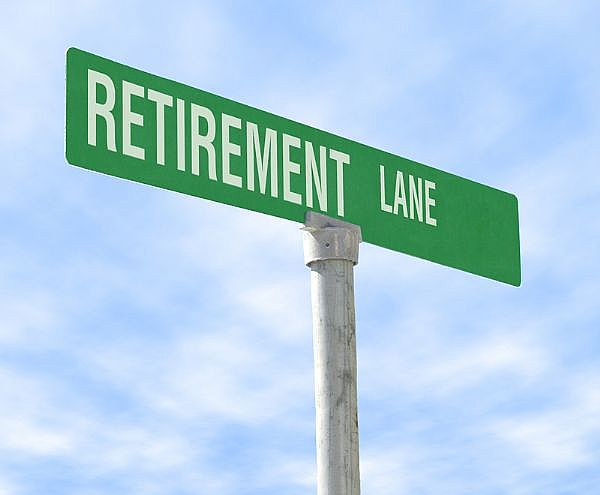retirement & savings. retirement savings at all.